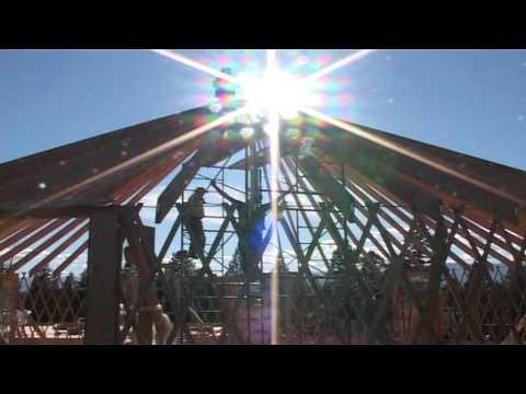Building 2 x 40' Yurts