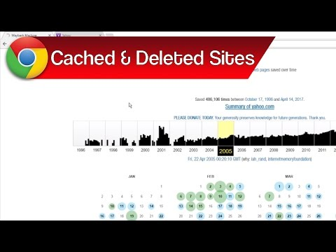 View Deleted Cached Pages with Web Archive Wayback Machine – View Old Versions & Deleted Sites
