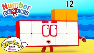 Making Rectangles | Numberblocks | CBeebies