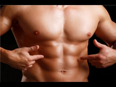 how to get the line down your abs