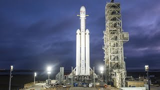 SpaceX launch Falcon Heavy: watch live