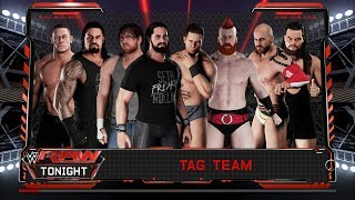 WWE 2K18 (  8 MAN ELIMINATION TAG MATCH )  PS4 PRO
