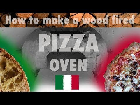 How to make an Italian wood fired pizza oven   Costruire un forno a legna fai da te