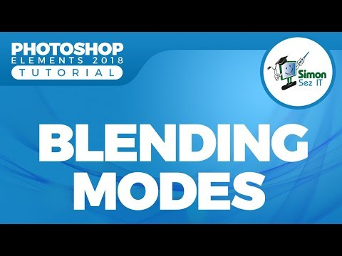 How to Use Blending Modes Using Layers in Photoshop Elements 2018