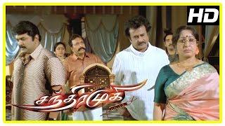 Chandramukhi Tamil Movie | Rajinikanth takes the blame | Jyothika | Nayanthara | Prabhu