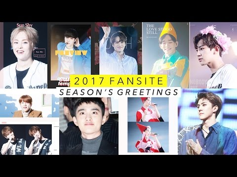 EXO Fansite 2017 Season's Greetings Recommendations 💘