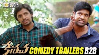 Keshava Comedy Trailers || Back to Back || Nikhil, Priyadarshi, Vennala Kishore - Filmyfocus.com