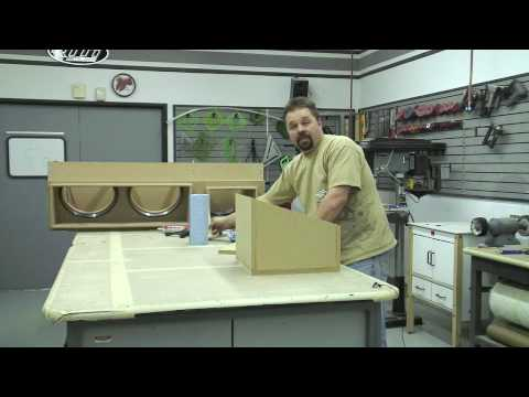 Rockford Fosgate RTTI- How to build a subwoofer box part 2