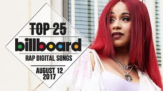 Top 25 • Billboard Rap Songs • August 12, 2017 | Download-Charts