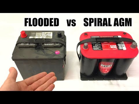 What Type Of Car Battery Should You Use? Flooded vs AGM