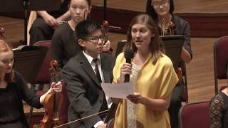 2017 Nso Summer Music Institute - Millennium Stage (july 23, 2017)