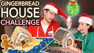 Gingerbread HOUSE TOUR (BF vs GF)