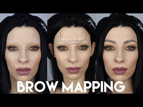 Brows From Scratch | Brow Mapping using the Microblading Technique