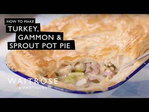 Turkey, Gammon And Sprout Pot Pie | Waitrose