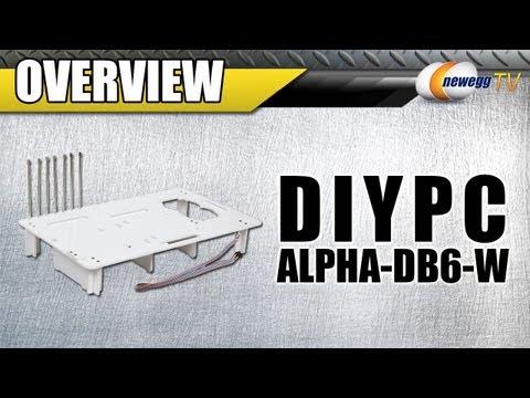 Newegg TV: DIYPC Alpha-DB6-W Bench Case Overview