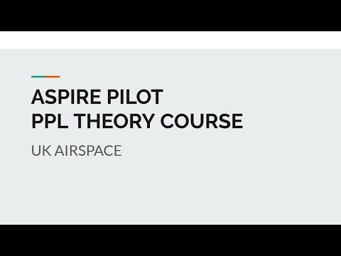 EASA PPL Theory | Uk Airspace Types