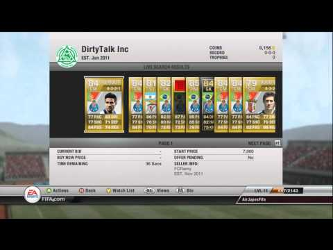 FIFA 12 Ultimate Team - Path to Power v2