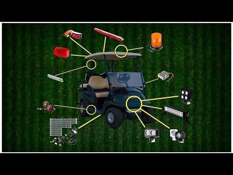 The Best LED Golf Cart Lights