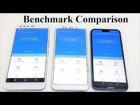Huawei P20 Lite (Nova 3e) vs Xiaomi Redmi 5 Plus (Note 5) vs Infinix Zero 5 - BENCHMARK COMPARISON
