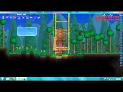 Terraria- Tree House Part 3-Background Wall