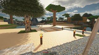Minecraft 4K Gameplay - DD Realistic Textures Pack - Minecraft 4K (Ultra Graphics)