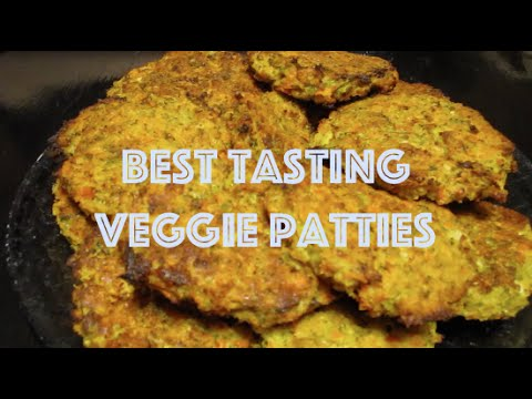 How to Make the Best Tasting Veggie Patties Ever! (Recipe)