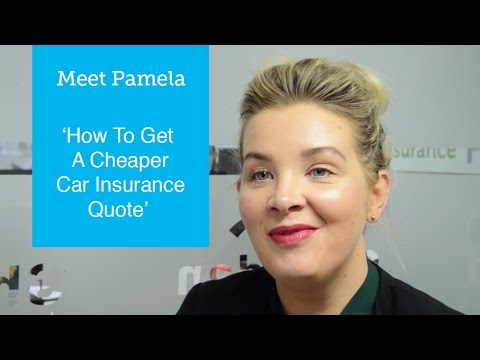 How To Get A Cheaper Car Insurance Quote