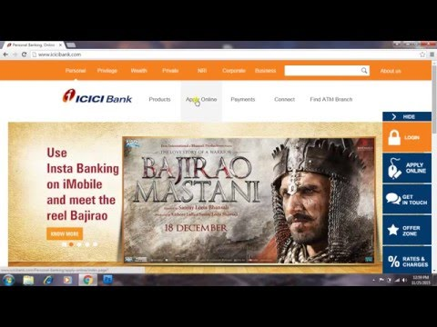 how to generate a 3d secure pin of credit card or debit card | ICICI bank |