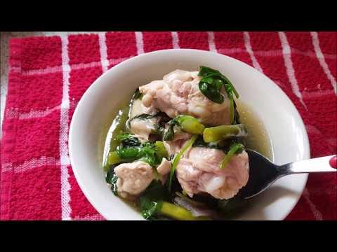 Healthy Tinolang Manok (Ginger Chicken Soup)