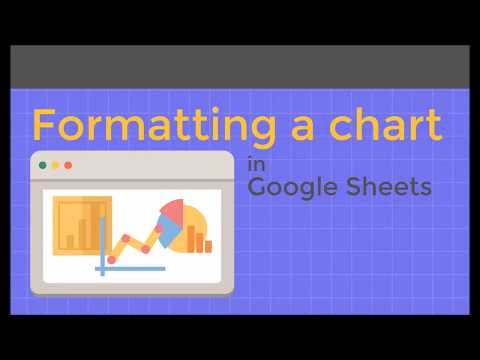 Formatting a chart in Google Sheets