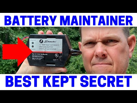How To Make Lawnmower Tractor Battery Last For Years (Must Watch)
