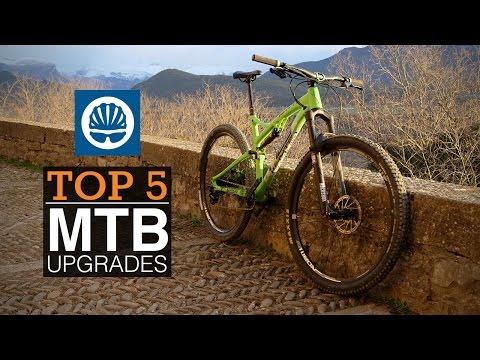 Top 5 - Best MTB Upgrades