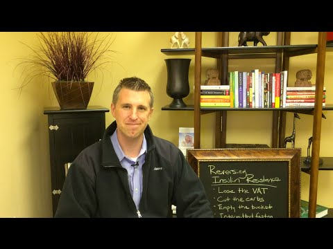 Dr. Brian Mowll teaches how to reverse insulin resistance