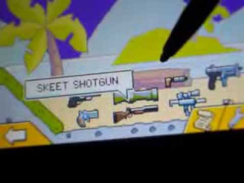 super scribblenauts cool weapons and vehicles