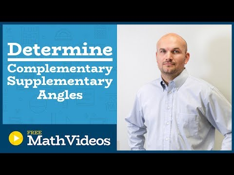 Master how to find the complement and supplement of an angle
