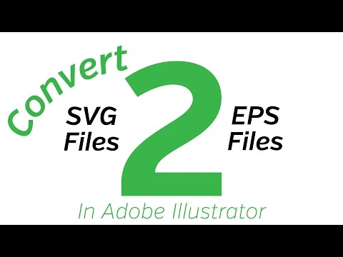 How to convert SVG files to EPS files