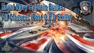 Royal Navy Captain Builds! All Classes (post 0.8.0 Skills)