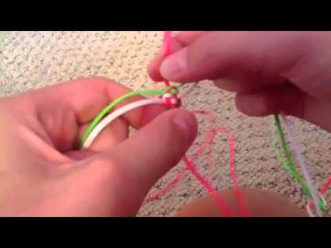 Remake of How to Do The Twist Lanyard -Doing the Stitch