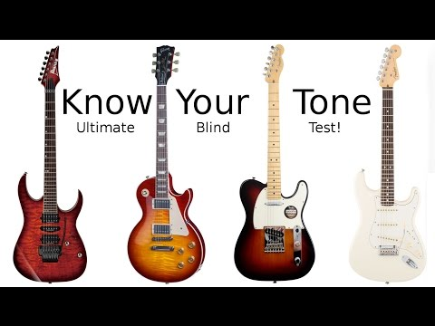 Know Your Tone - Blind Test Guitar Challenge!