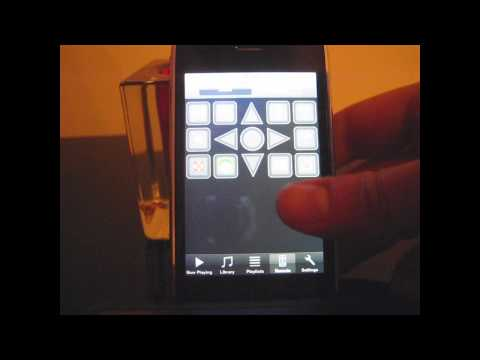 Using an iPhone to control Windows Media Center