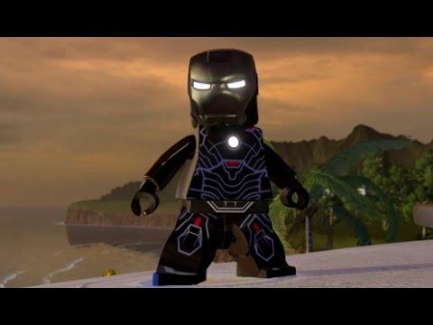 LEGO Marvel's Avengers - Iron Man (Mark 16) Unlock Location + Free Roam (Character Showcase)