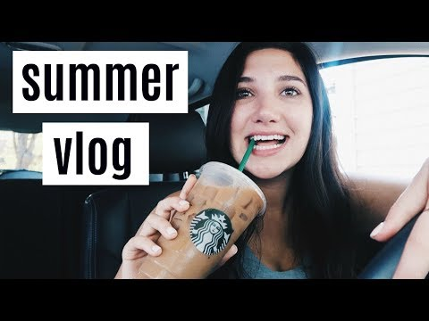 vlog: back at home, starbucks order, getting healthy + my mom's return to youtube!!