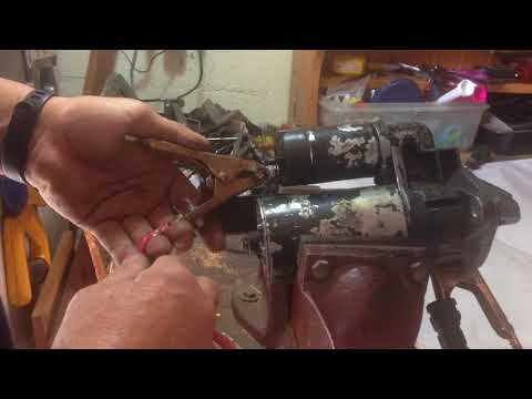 How to Bench Test an Automotive Starter Motor