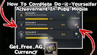 EASY WAY TO COMPLETE DO-IT-YOURSELFER ACHIEVEMENT IN PUBG MOBILE l HOW TO COMPLETE DO-IT-YOURSELFER