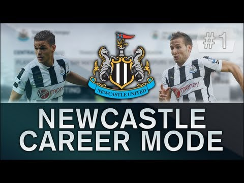FIFA 14- Newcastle United Career Mode #1