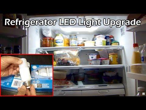 Refrigerator LED Light Upgrade