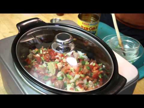 Crockpot Jambalaya - Another WayneBite Video