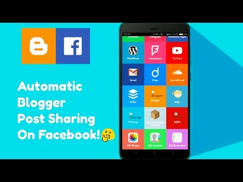 Share Automatic Blog Post On Facebook Free | Auto Blogging