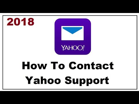 How to Contact Yahoo Support