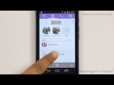 Viber Messenger - How To Add A Phone Contact To Favorites